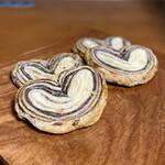 ラ・サンテ - 料理写真:ハートのチョコパイ