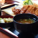 レストラン さかえ - トンカツ定食