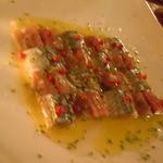酒選房 - 秋刀魚のカルパッチョ