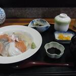 和庵 いっしん - 海鮮丼定食