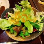 豚しゃぶ・やきとん 森の酒場 隠豚 - サラダ