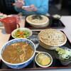 一徳庵 - 料理写真:夢に出てきたカレー丼!セットで冷たいお蕎麦で❤️