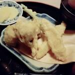 145888063 - 金ヶ崎産しいたけの天ぷら