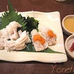 日本料理レストラン RAKU - 兵庫産活鱧の湯引き