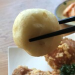 中国料理 味神館  - イカ団子リフト