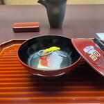 ryouteioomiyaichinoya - お椀。             美味し。