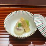 ryouteioomiyaichinoya - 炊き合わせ。             美味し。