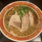 Ajimitorimarumen - 背脂醤油ラーメン