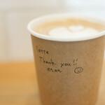 コーヒースタンド ポレポレ - 2021年2月再訪:カフェラテ☆