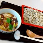 江戸蕎麦 一輪草 - 料理写真:鴨おろしせいろ