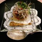 1459921 - 前菜② 初ガツオとアボカドのサラダ
