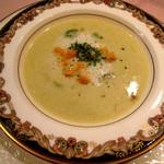 1459923 - 本日のスープ アスパラガスのポタージュ