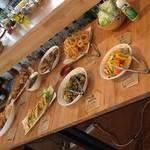 cafe #101 - 土曜日はインド料理のバイキングでした~♪すごく美味しかったです☆