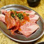 焼肉ホルモン まつとよ苑 - カルビ 980円