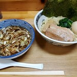 龍月 - 味玉つけ麺
