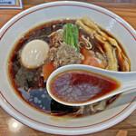 ら~麺 安至 - 漆黒のスープ