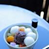 茶房 雲母 - 料理写真:白玉あんみつ