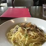 ル サロン ド ニナス - うどとあさりの柚子胡椒風味
