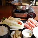 老湯火鍋房 - ひとり火鍋定食