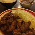 一楽 - トンテキ定食