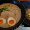 百饅馬力 - 料理写真:ラーメン半チャンセット