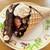 アンジェリーク - 料理写真:贅沢チョコワッフルコーン…税込1080円