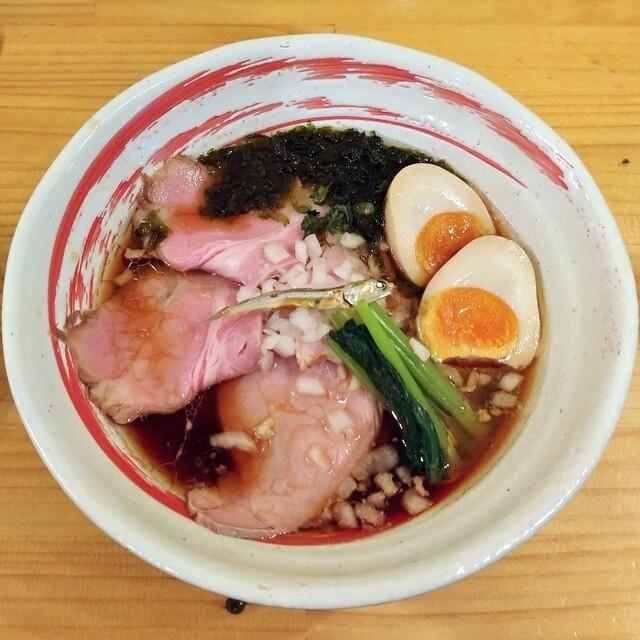 し 一直線 煮干 白河手打中華ソバ 一番いちばん@町田/極上の煮干しぶっかけそば