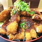 どんぶりころころ - トリプルミックス丼(ソース)