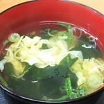 どんぶりころころ - 玉子スープ