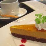 キッシュキッシュ - キャラメルムースのケーキ(ハーフ)