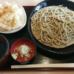 薮蕎麦 - 料理写真:かき揚げせいろ¥850-
