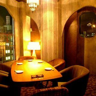 ラグジュVIP完全個室で神戸の夜景を一望…贅沢気分に♪