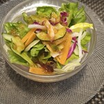 ズコット - 料理写真:サラダ