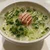 Raamensando - 料理写真:明太子とネギのぶっかけ丼 マヨネーズかけ