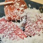最飛びヒレ家 馬喰一代 名古屋EAST - 霜降りと赤身A5モッツアレラチーズ