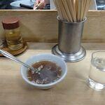 145952888 - まずはスープが出ます
