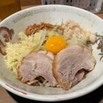 ラーメン豚山  - 【再訪】汁なしミニ