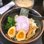 北海道らーめん ひむろ - 味噌ダレつけ麺¥890 2020.10.17