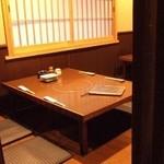 瀬戸内魚料理かねも - 3階は掘りごたつ個室が豊富!4名~26名様まであります。
