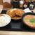 かつや - 料理写真:豚汁定食650円(税別)