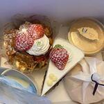 カノン - 私はこの日、この中から4種類のケーキを選んで自宅にお持ち帰りです。