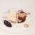 レストラン フウ - 七谷赤地鶏とヴァン・ジョーヌのガランティーヌ フォアグラとピモンデスプレットのミキュイ 信州胡桃 源助大根 紫芋 コンテ18カ月