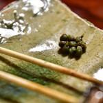 石ばし - 山椒煮