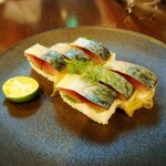 Wainya - 季節ものだけどあったら是非食べてほしい鯖寿司!