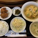 Rinsen - 日替わりサービスランチ(カニ玉)@750