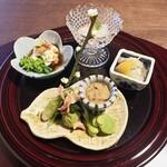 割烹 香乃葉 - 前菜