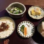 割烹 香乃葉 - お食事