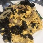 神田餃子屋 - たまごとキクラゲの炒め物