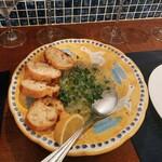 IL BALLOND'ORO - 生白魚の冷静レモンとオリーブオイル