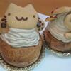 お菓子のゆりかご - 料理写真:こねこシュークリーム
